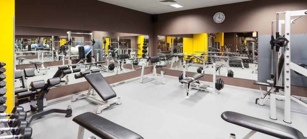Fitness Center Cleaning Slider